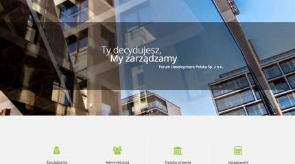 Forum Development – projekt i wykonanie strony www