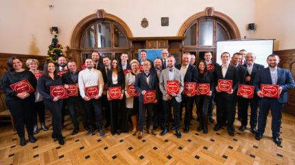 KRAKÓW – Plakiety Przewodnika Michelin Main Cities of Europe 2017