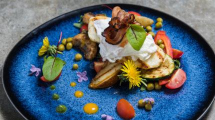 Gęś i wino – fotografia kulinarna i zdjęcia wnętrz w Spale
